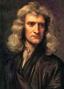 Sir Isaac Newton (1642-1727)  Source: Wikipedia