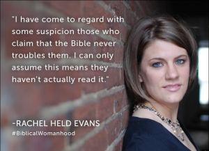 Rachel Held Evans Bible